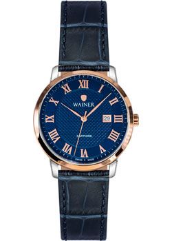 Швейцарские наручные  женские часы Wainer WA.11288B. Коллекция Bach