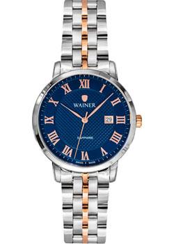Швейцарские наручные  женские часы Wainer WA.11377B. Коллекция Venice