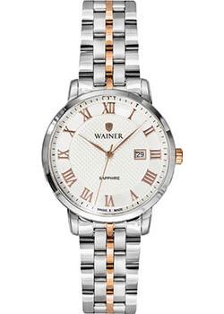 Швейцарские наручные  женские часы Wainer WA.11377C. Коллекция Venice