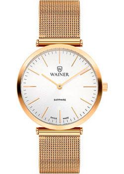 Швейцарские наручные  женские часы Wainer WA.11421B. Коллекция Venice