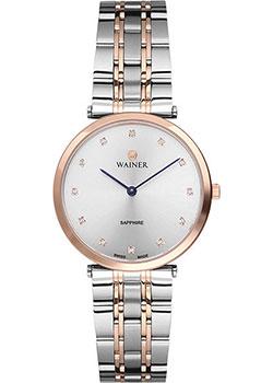 Швейцарские наручные  женские часы Wainer WA.11911B. Коллекция Venice