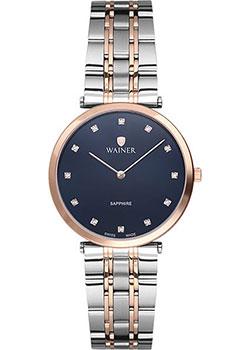 Швейцарские наручные  женские часы Wainer WA.11911C. Коллекция Venice