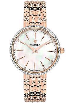 Швейцарские наручные  женские часы Wainer WA.11942B. Коллекция Venice