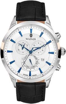 Швейцарские наручные  мужские часы Wainer WA.15916C. Коллекция Wall Street от Bestwatch.ru