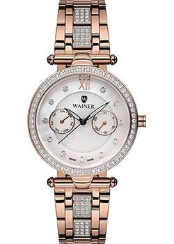 Швейцарские наручные  женские часы Wainer WA.18555B. Коллекция Venice