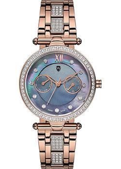 Швейцарские наручные  женские часы Wainer WA.18555C. Коллекция Venice