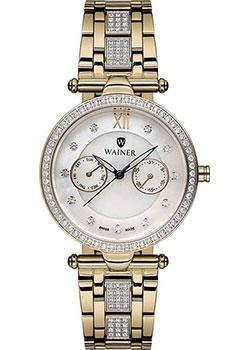 Швейцарские наручные  женские часы Wainer WA.18555D. Коллекция Venice