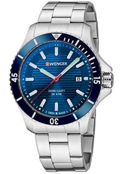 Швейцарские наручные  мужские часы Wenger 01.0641.120. Коллекция Seaforce.