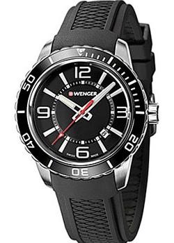 Швейцарские наручные  мужские часы Wenger 01.0851.117. Коллекция Roadster.