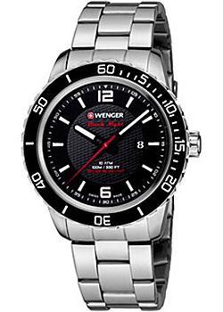 Купить Швейцарские наручные мужские часы Wenger 01.0851.122. Коллекция Roadster Black Night