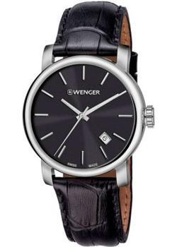 Купить Швейцарские наручные мужские часы Wenger 01.1041.139. Коллекция Urban Classic Vintage