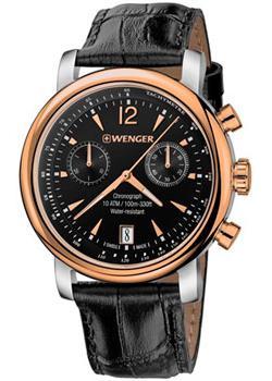 Купить Швейцарские наручные мужские часы Wenger 01.1043.113. Коллекция Urban Vintage Chrono