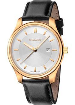 Швейцарские наручные  женские часы Wenger 01.1421.101. Коллекция City Classic