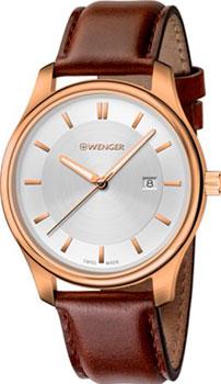 Швейцарские наручные  женские часы Wenger 01.1421.102. Коллекция City Classic