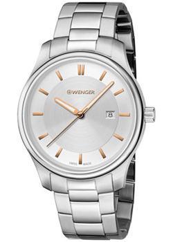 Швейцарские наручные  женские часы Wenger 01.1421.105. Коллекция City Classic