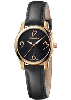 Швейцарские наручные  женские часы Wenger 01.1421.107. Коллекция City Very Lady