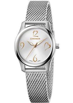 Швейцарские наручные  женские часы Wenger 01.1421.109. Коллекция City Very Lady