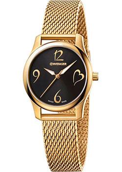 Швейцарские наручные  женские часы Wenger 01.1421.110. Коллекция City Very Lady