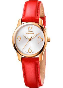 Швейцарские наручные  женские часы Wenger 01.1421.113. Коллекция City Very Lady