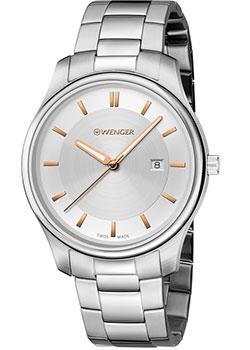 Швейцарские наручные мужские часы Wenger 01.1441.105. Коллекция City Classic фото
