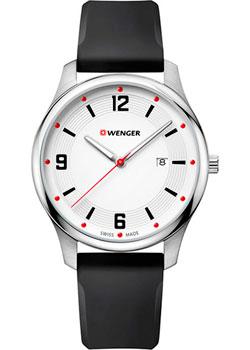 Швейцарские наручные  мужские часы Wenger 01.1441.108. Коллекция City Active.