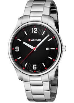 Купить Швейцарские наручные мужские часы Wenger 01.1441.110. Коллекция City Active