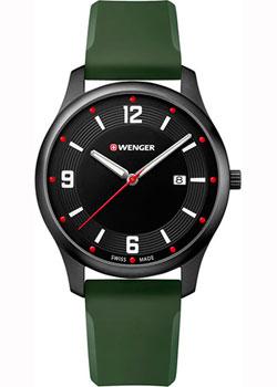 Швейцарские наручные  мужские часы Wenger 01.1441.125. Коллекция City Active.