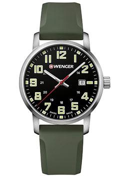 Швейцарские наручные мужские часы Wenger 01.1641.112. Коллекция Avenue фото