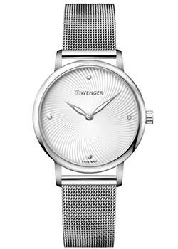 Швейцарские наручные  женские часы Wenger 01.1721.107. Коллекция Urban Donnissima
