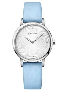 Швейцарские наручные  женские часы Wenger 01.1721.108. Коллекция Urban Donnissima