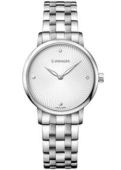 Швейцарские наручные  женские часы Wenger 01.1721.109. Коллекция Urban Donnissima