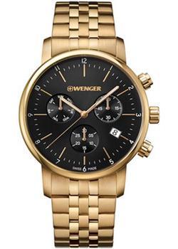 Купить Швейцарские наручные мужские часы Wenger 01.1743.103. Коллекция Urban Classic