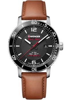 Швейцарские наручные  мужские часы Wenger 01.1841.105. Коллекция Roadster.