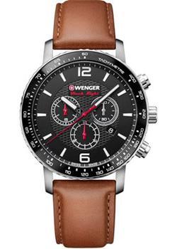Швейцарские наручные  мужские часы Wenger 01.1843.104. Коллекция Roadster.