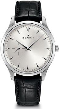 Швейцарские наручные мужские часы Zenith 03.2010.681_01.C493