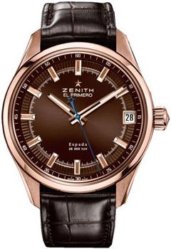 Купить Часы мужские Швейцарские наручные  мужские часы Zenith 18.2170.4650_75.C713  Швейцарские наручные  мужские часы Zenith 18.2170.4650_75.C713
