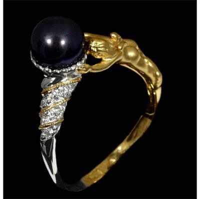 Золотое кольцо 11220 фото