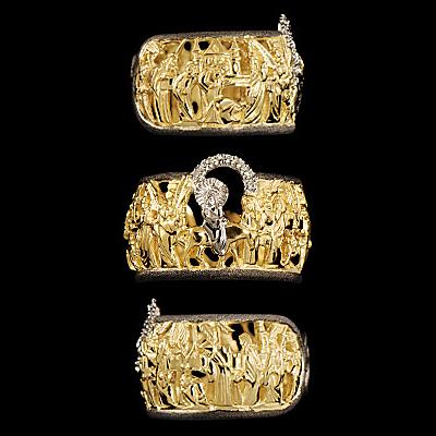 Золотое кольцо  12480 от Ювелирное изделие