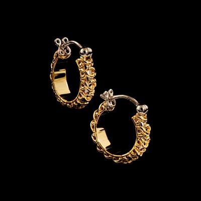 Золотые серьги  Ювелирное изделие 20010