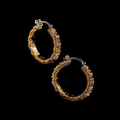 Золотые серьги  20270 от Ювелирное изделие