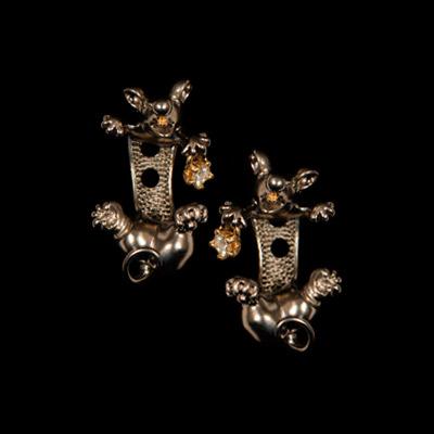 Золотые серьги  20322 от Ювелирное изделие