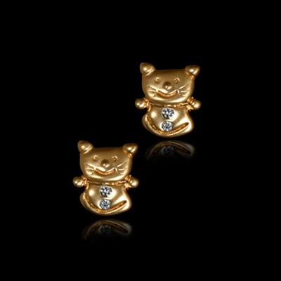 Золотые серьги  20510 от Ювелирное изделие