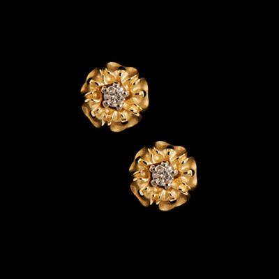 Золотые серьги 21960 фото