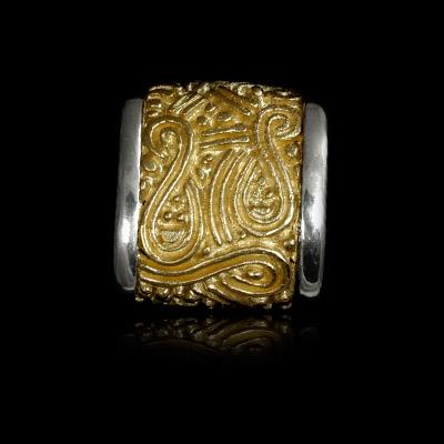 Золотое колье 401310 фото
