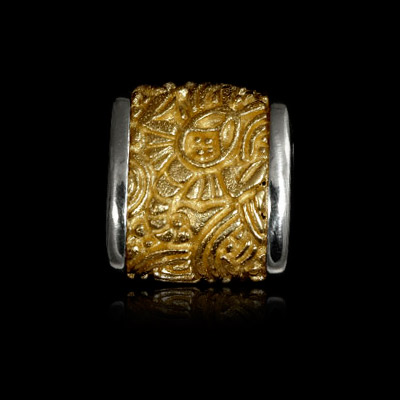 Золотое колье 401311 фото