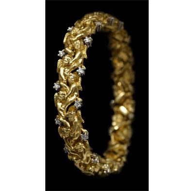 Золотой браслет  50430