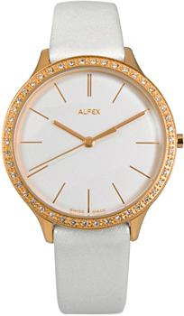 fashion наручные  женские часы Alfex 5644-781. Коллекция Crystal Line