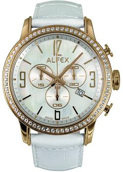 fashion наручные  женские часы Alfex 5671-789. Коллекция Crystal Line