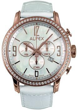 fashion наручные  женские часы Alfex 5671-790. Коллекция Crystal Line