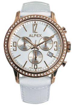 fashion наручные  женские часы Alfex 5697-846. Коллекция Crystal Line